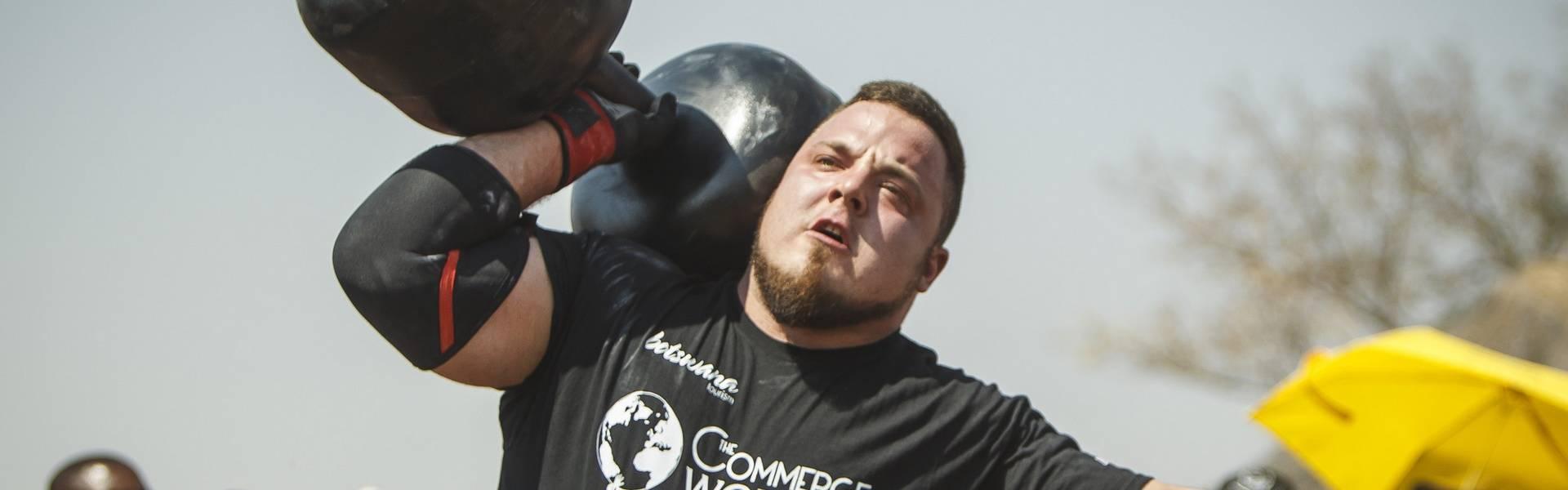 Belšak giant dumbell world record