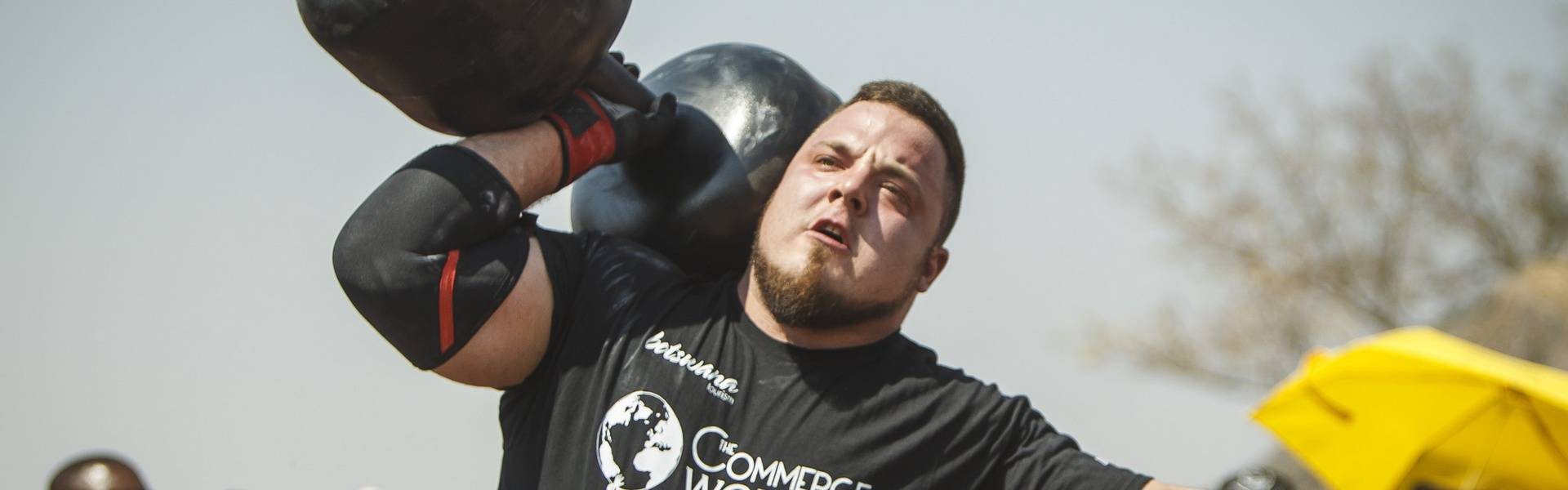 Belšak giant dumbell world record